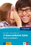 Cover-Bild zu 55 kommunikative Spiele A1-C1 von Daum, Susanne