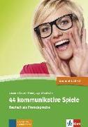 Cover-Bild zu 44 kommunikative Spiele von Daum, Susanne