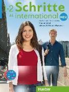 Cover-Bild zu Schritte international Neu 1+2. 5 Audio-CDs und 1 DVD zum Kursbuch. Medienpaket von Niebisch, Daniela