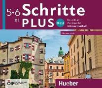 Cover-Bild zu Schritte plus Neu 5+6 - Österreich / 4 Audio-CDs zum Kursbuch von Hilpert, Silke