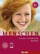 Cover-Bild zu Menschen A1. Kursbuch mit DVD-ROM von Evans, Sandra