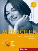Cover-Bild zu Menschen B1. Arbeitsbuch mit 2 Audio-CDs von Breitsameter, Anna