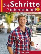 Cover-Bild zu Schritte international Neu 3+4. Kursbuch von Hilpert, Silke