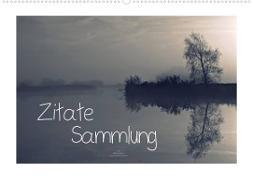 Cover-Bild zu Zitate - Sammlung (Wandkalender 2022 DIN A2 quer) von Adam, Ulrike