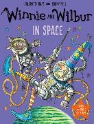 Cover-Bild zu Thomas, Valerie: Winnie and Wilbur in Space with audio CD