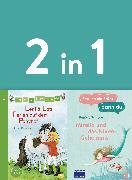 Cover-Bild zu Erst ich ein Stück, dann du - zwei Geschichten in einem Band: - Leni & Lotti - Ferien auf dem Ponyhof / Mirella und das Nixen-Geheimnis (eBook) von Schröder, Patricia