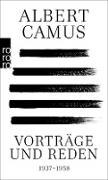 Cover-Bild zu Camus, Albert: Vorträge und Reden (eBook)