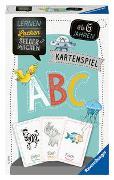 Cover-Bild zu Ravensburger 80347 - Lernen Lachen Selbermachen: ABC, Kinderspiel für 1-4 Spieler, Lernspiel ab 5 Jahren, Kartenspiel, Buchstaben von Odersky, Eva