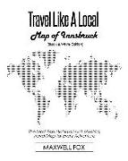 Cover-Bild zu Fox, Maxwell: Travel Like a Local - Map of Innsbruck (Black and White Edition): The Most Essential Innsbruck (Austria) Travel Map for Every Adventure