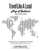 Cover-Bild zu Fox, Maxwell: Travel Like a Local - Map of Oakland (Black and White Edition): The Most Essential Oakland (California) Travel Map for Every Adventure