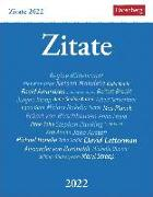 Cover-Bild zu Budde, Berthold: Zitate Kalender 2022
