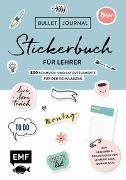 Cover-Bild zu Edition Michael Fischer (Hrsg.): Bullet Journal - Stickerbuch für Lehrer: 800 Schmuck- und Layoutelemente für den Schulalltag