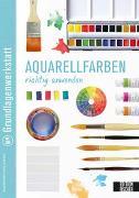 Cover-Bild zu Edition Michael Fischer (Hrsg.): Grundlagenwerkstatt: Aquarellfarben richtig anwenden
