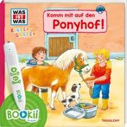 Cover-Bild zu BOOKii® WAS IST WAS Kindergarten Komm mit auf den Ponyhof! von Noa, Sandra