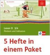 Cover-Bild zu Mein Anoki-Übungsheft. Lesen D. Fördern und Inklusion. Arbeitsheft Klasse 4 (5-er Paket)