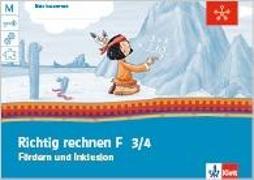 Cover-Bild zu Mein Anoki-Übungsheft. Richtig rechnen. Fördern und Inklusion F. Arbeitsheft 3.-4. Schuljahr