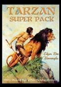 Cover-Bild zu Burroughs, Edgar Rice: Tarzan Super Pack (eBook)