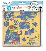 Cover-Bild zu Krickel-Krakel Schablonen