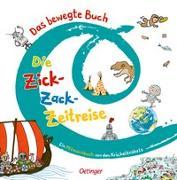 Cover-Bild zu Das bewegte Buch 3. Die Zick-Zack-Zeitreise von Die Krickelkrakels