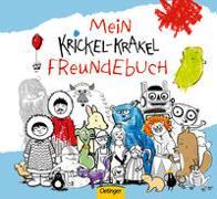 Cover-Bild zu Mein Krickel-Krakel Freundebuch von Die Krickelkrakels (Gestaltet)