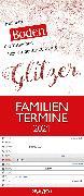 Cover-Bild zu teNeues Calendars & Stationery GmbH & Co. KG: Typo Art 2021 A&I Familienplaner - Familienkalender - Wandkalender - 19,5x45