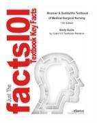 Cover-Bild zu e-Study Guide for: Brunner & Suddarths Textbook of Medical-Surgical Nursing by Suzanne C. Smeltzer Ph.D., ISBN 9781608312467 (eBook) von Reviews, Cram101 Textbook