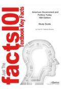 Cover-Bild zu e-Study Guide for: American Government and Politics Today by Steffen W. Schmidt, ISBN 9781133602132 (eBook) von Reviews, Cram101 Textbook