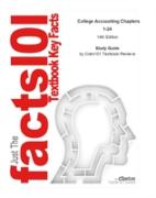 Cover-Bild zu Study Guide for College Accounting Chapters 1-24 (eBook) von Reviews, Cram101 Textbook