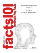 Cover-Bild zu Study Guide for Criminal Law and Procedure (eBook) von Reviews, Cram101 Textbook
