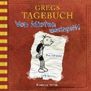 Cover-Bild zu Gregs Tagebuch - Von Idioten umzingelt! von Kinney, Jeff