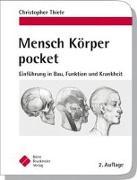 Cover-Bild zu Mensch Körper pocket von Thiele, Christopher
