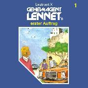 Cover-Bild zu X, Leutnant: Geheimagent Lennet, Folge 1: Geheimagent Lennet's erster Auftrag (Audio Download)