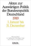 Cover-Bild zu Akten zur Auswärtigen Politik der Bundesrepublik Deutschland 1989 (eBook) von Taschler, Daniela (Hrsg.)