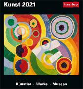 Cover-Bild zu Erbentraut, Regina: Kunst Kalender 2021