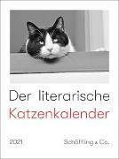 Cover-Bild zu Bachstein, Julia (Hrsg.): Der literarische Katzenkalender 2021