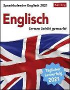 Cover-Bild zu Butz, Steffen: Sprachkalender Englisch Kalender 2021