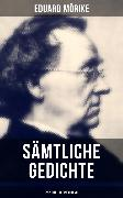 Cover-Bild zu Mörike, Eduard: Gesammelte Gedichte von Eduard Mörike (252 Titel in einem Band) (eBook)
