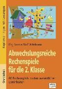 Cover-Bild zu Abwechslungsreiche Rechenspiele für die 2. Klasse von Krampe, Jörg