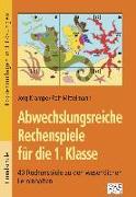 Cover-Bild zu Abwechslungsreiche Rechenspiele für die 1. Klasse von Krampe, Jörg