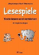Cover-Bild zu Lesespiele. Texte lesen und verstehen ab Klasse 2 von Krampe, Jörg