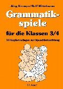 Cover-Bild zu Grammatikspiele für die Klassen 3/4 von Krampe, Jörg