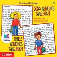 Cover-Bild zu Susis geheimes Tagebuch / Pauls geheimes Tagebuch von Nöstlinger, Christine