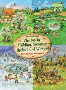 Cover-Bild zu Loewe Naturkind (Hrsg.): Viel los in Frühling, Sommer, Herbst und Winter!