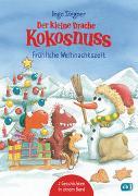 Cover-Bild zu Der kleine Drache Kokosnuss - Fröhliche Weihnachtszeit von Siegner, Ingo