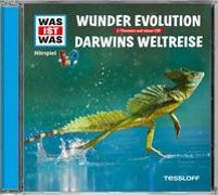 Cover-Bild zu WAS IST WAS Hörspiel-CD: Wunder Evolution/ Darwins Weltreise von Baur, Manfred