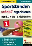 Cover-Bild zu Sportstunden schnell organisieren (eBook) von Lütgeharm, Rudi