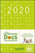 Cover-Bild zu Der Ernährungs-Docs-Taschenkalender 2020 von Riedl, Matthias