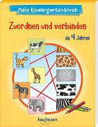 Cover-Bild zu Simon, Katia: Mein Kindergartenblock - Zuordnen und verbinden