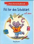 Cover-Bild zu Simon, Katia: Mein Vorschulblock - Fit für den Schulstart