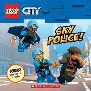 Cover-Bild zu Sky Police! [With Stickers] von Rusu, Meredith